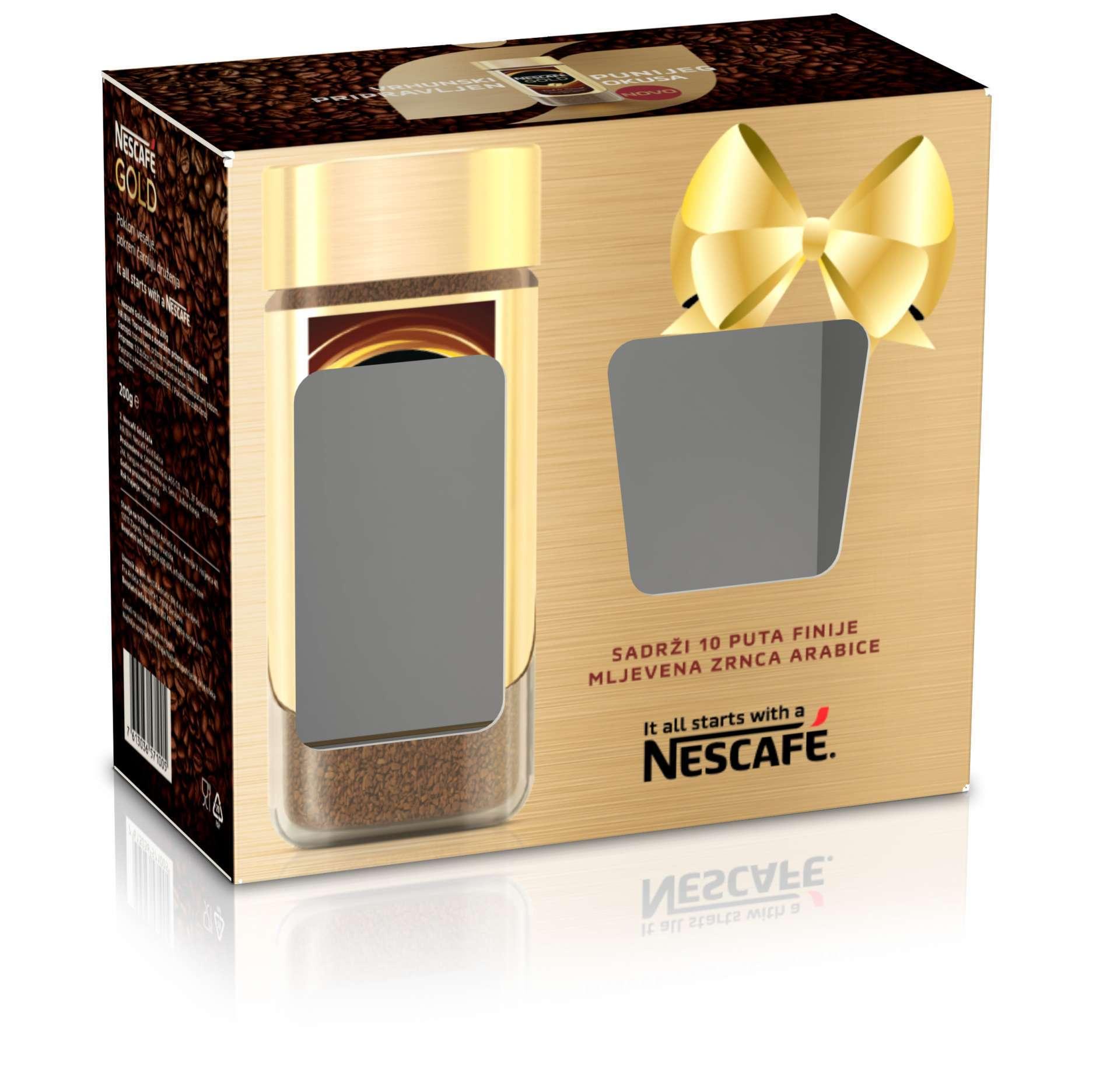 Kaširana kutija Nescafe