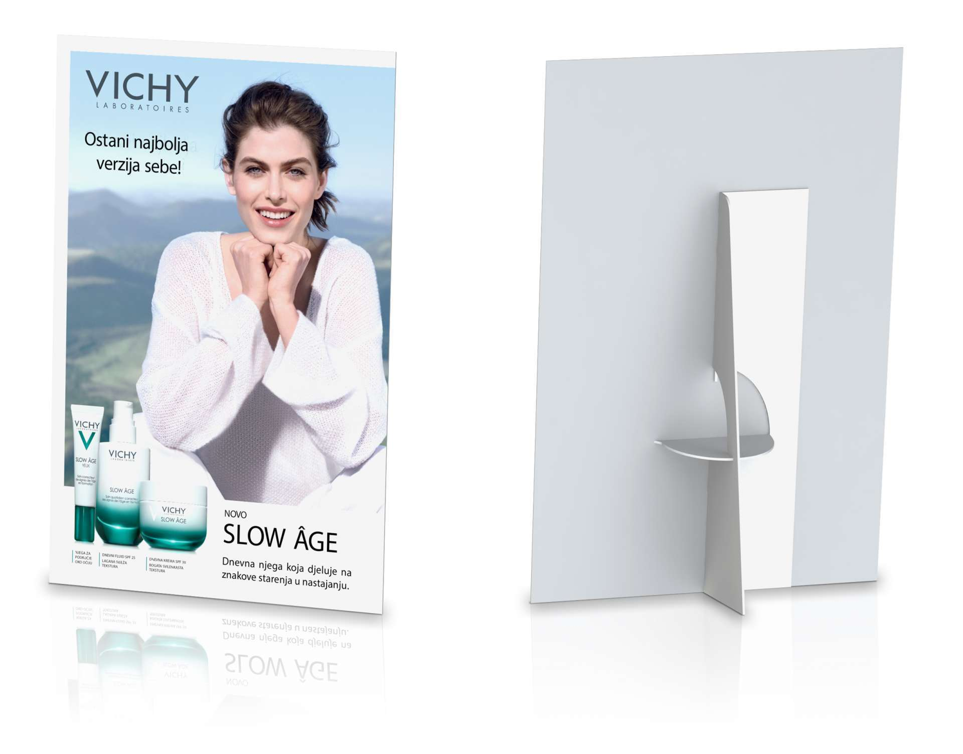 "Vichy ""display"" s nogicom"
